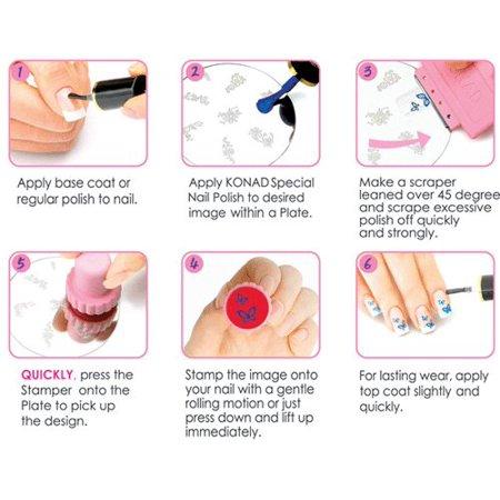 Konad Stamping Nail Art Image Plate S4 - image 2 of 2