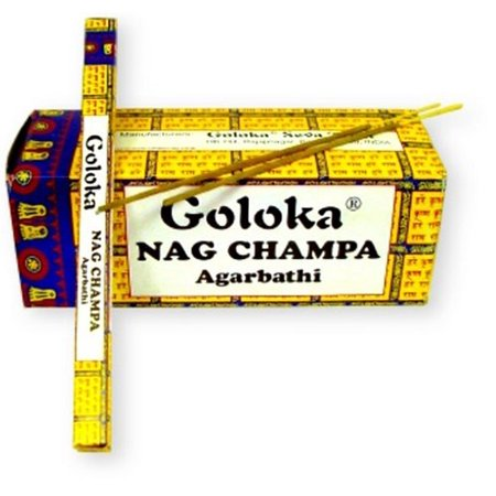 Goloka Nag Champa Incense Sticks, 100 grams
