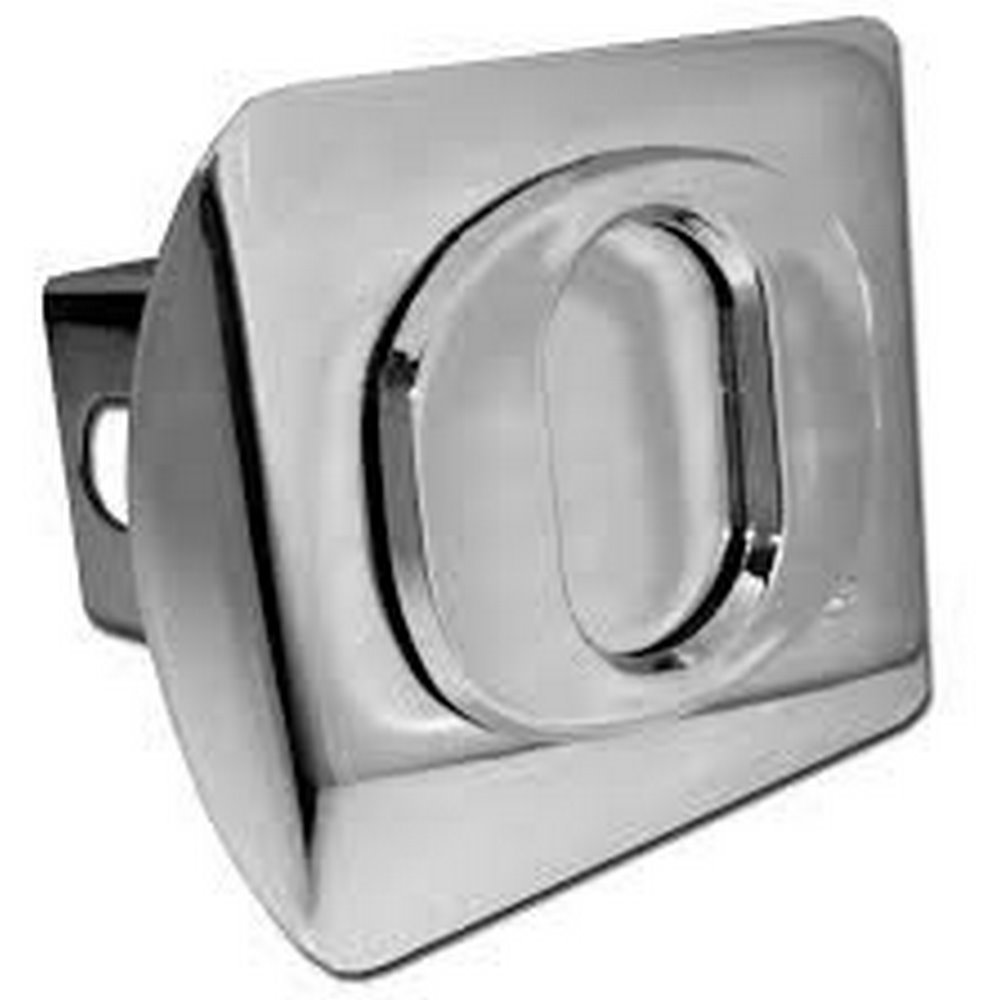 """NCAA Licensed Real Chrome Metal Hitch Cover 2"""""""