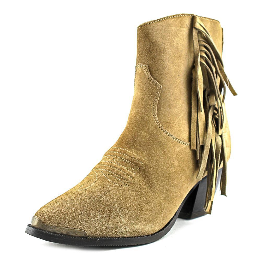 Dingo Gigi Round Toe Suede Western Boot by Dingo