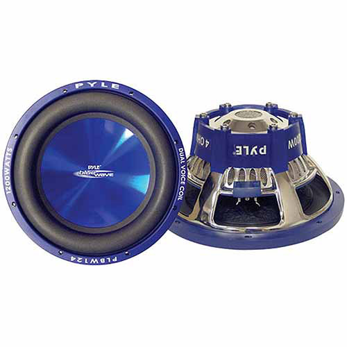 "Pyle Blue Wave Series 8"" 600W High-Powered Subwoofer"