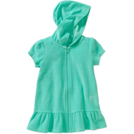 1d4aed0cd0ec8 OP - Little Girls Toddler Terry Hooded Swimsuit Cover Up (12m