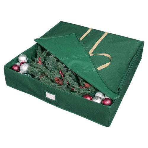 Richards Homewares Holiday Wreath Storage Bags