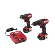 SKIL Brushless 12V Drill Driver & Impact Driver Kit with Charger, CB736701