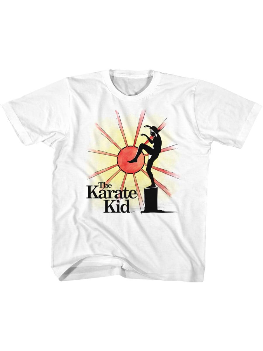 Karate Kid Ninja Sun White Toddler T-Shirt Tee