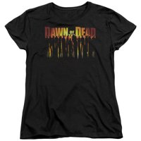 Dawn Of The Dead - Walking Dead - Women's Short Sleeve Shirt - XX-Large