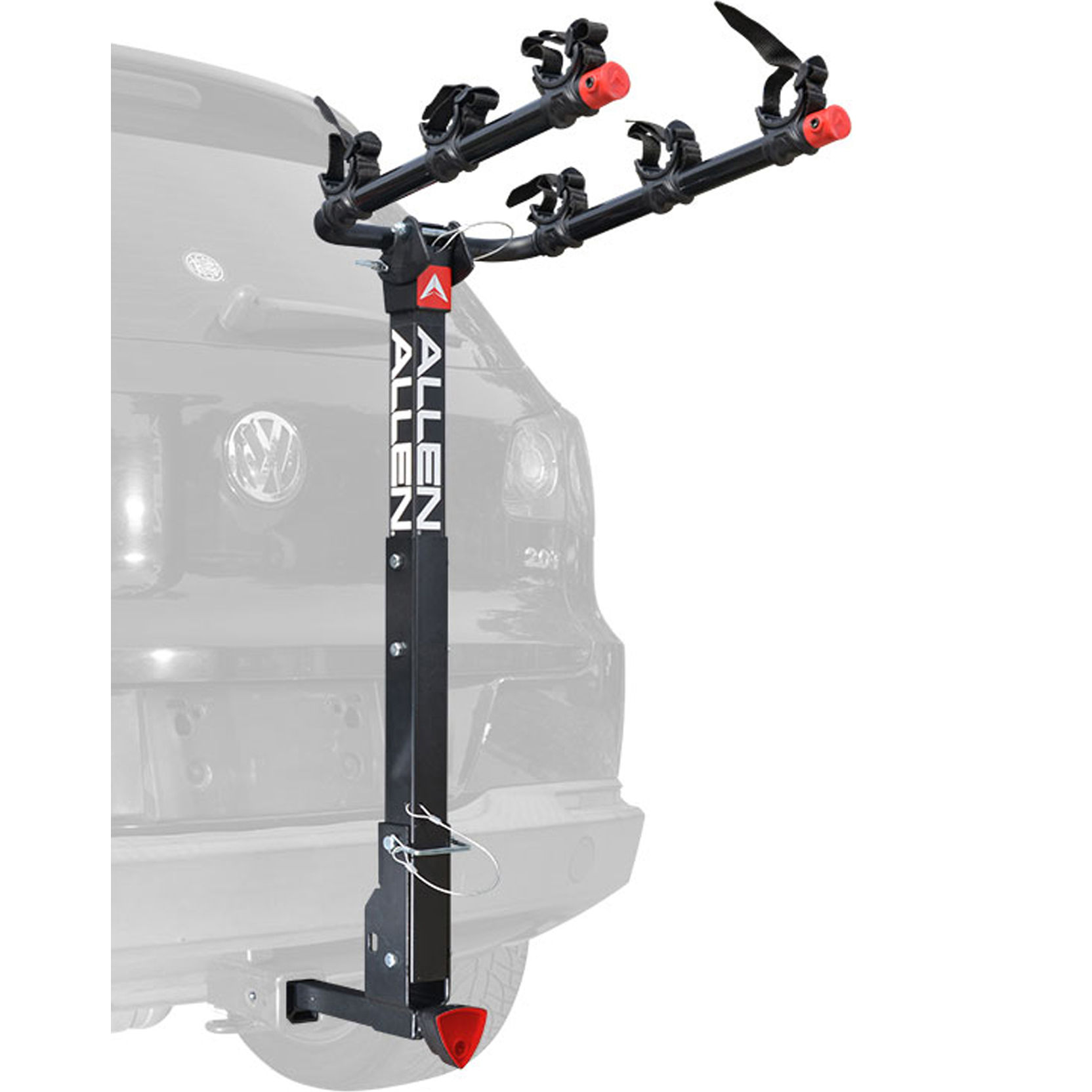 DELUXE QUICK INSTALL LOCKING 3-BIKE HITCH