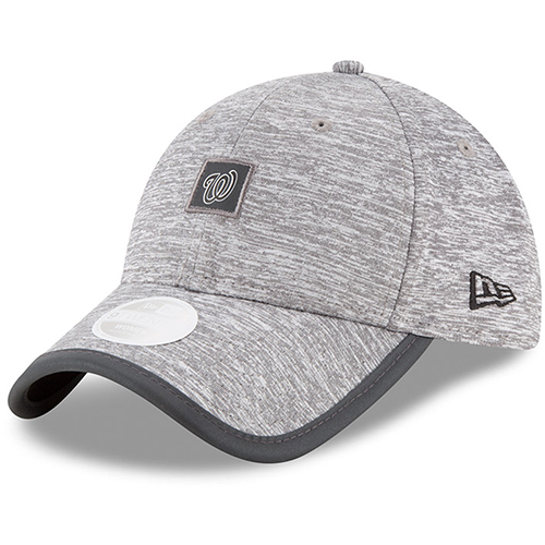 Washington Nationals New Era Women's Trimflect 9TWENTY Adjustable Hat - Gray - OSFA