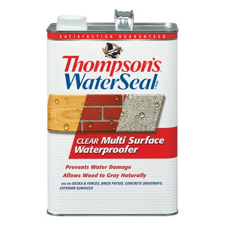 Thompson's WaterSeal Multi-Surface Waterproofer, Clear, 1-Gal