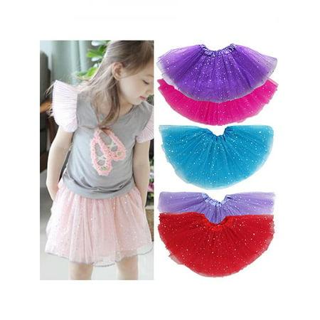 713600477 Girl12Queen - Girls Kids Party Ballet Dance Wear Star Dot Tutu Skirt ...