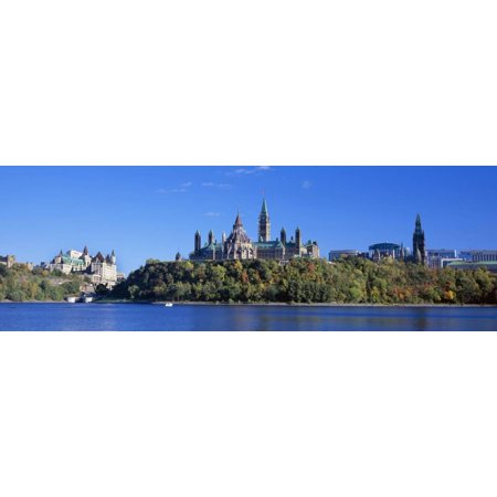 government building on a hill, parliament building, parliament hill ...