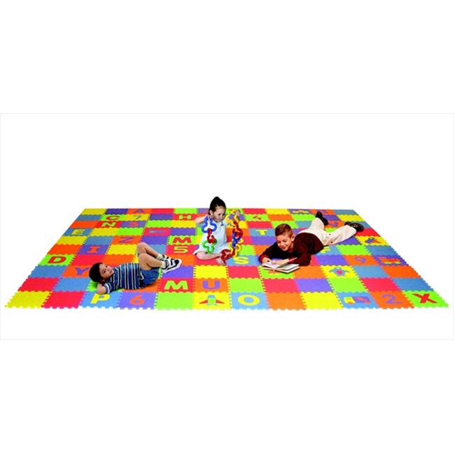 Edushape 079653 Letters, Numbers, And Puzzles Play Mat Set by edushape
