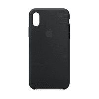 Apple Silicone Case for iPhone X - Black