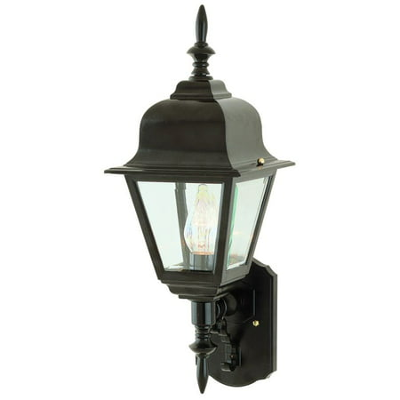 Trans Globe Lighting 4412 Single Light Up Lighting Outdoor Wall Sconce from the