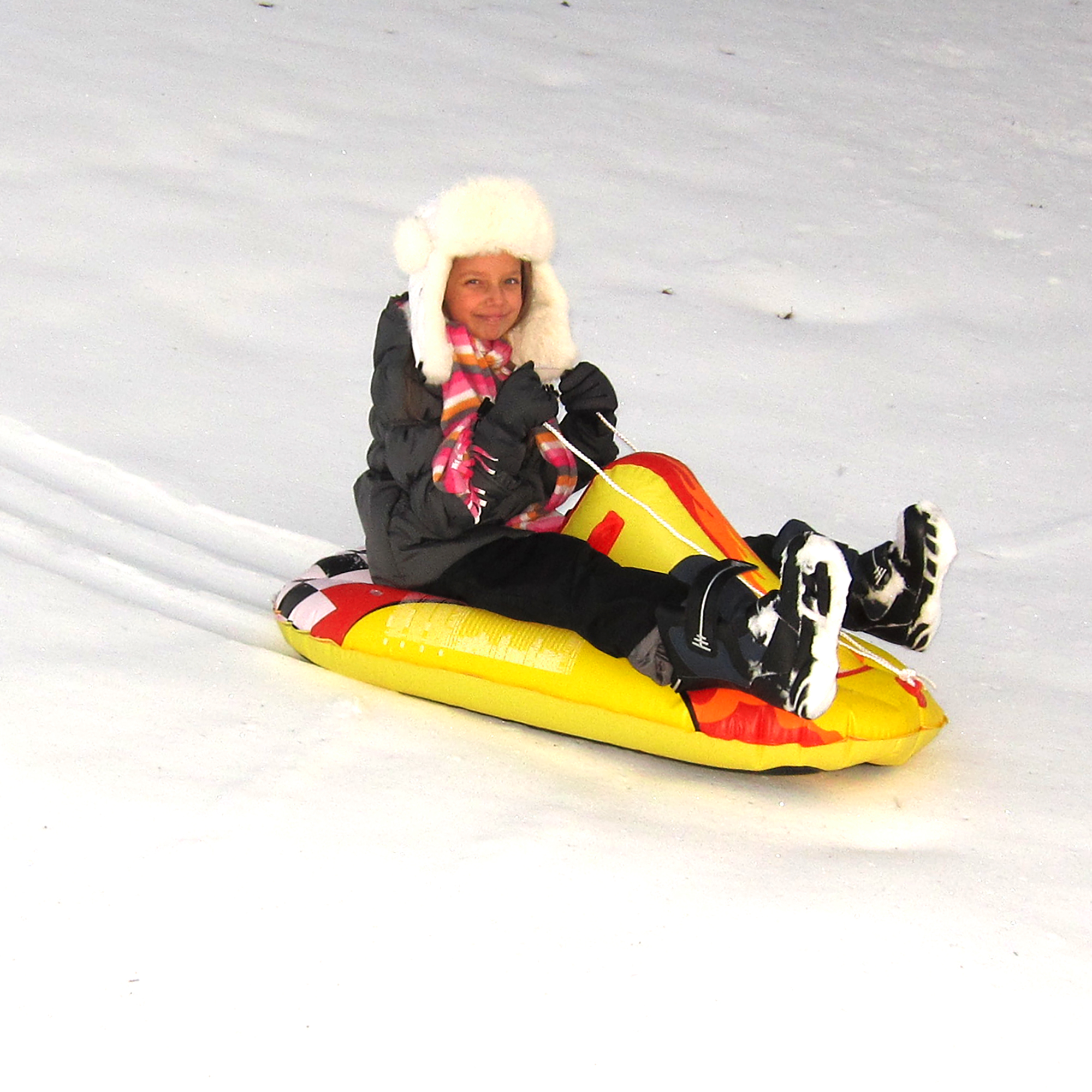 Blue Wave Sports Thunderbolt 44-in Inflatable Snow Rider