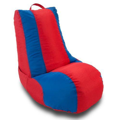 Ace Bayou Medium School Video Game Chair - Red/Blue