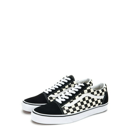 Vans OG Old Skool Primary Check Sneakers VN0A38G1P0S Black/White - Minecraft Shoes Vans