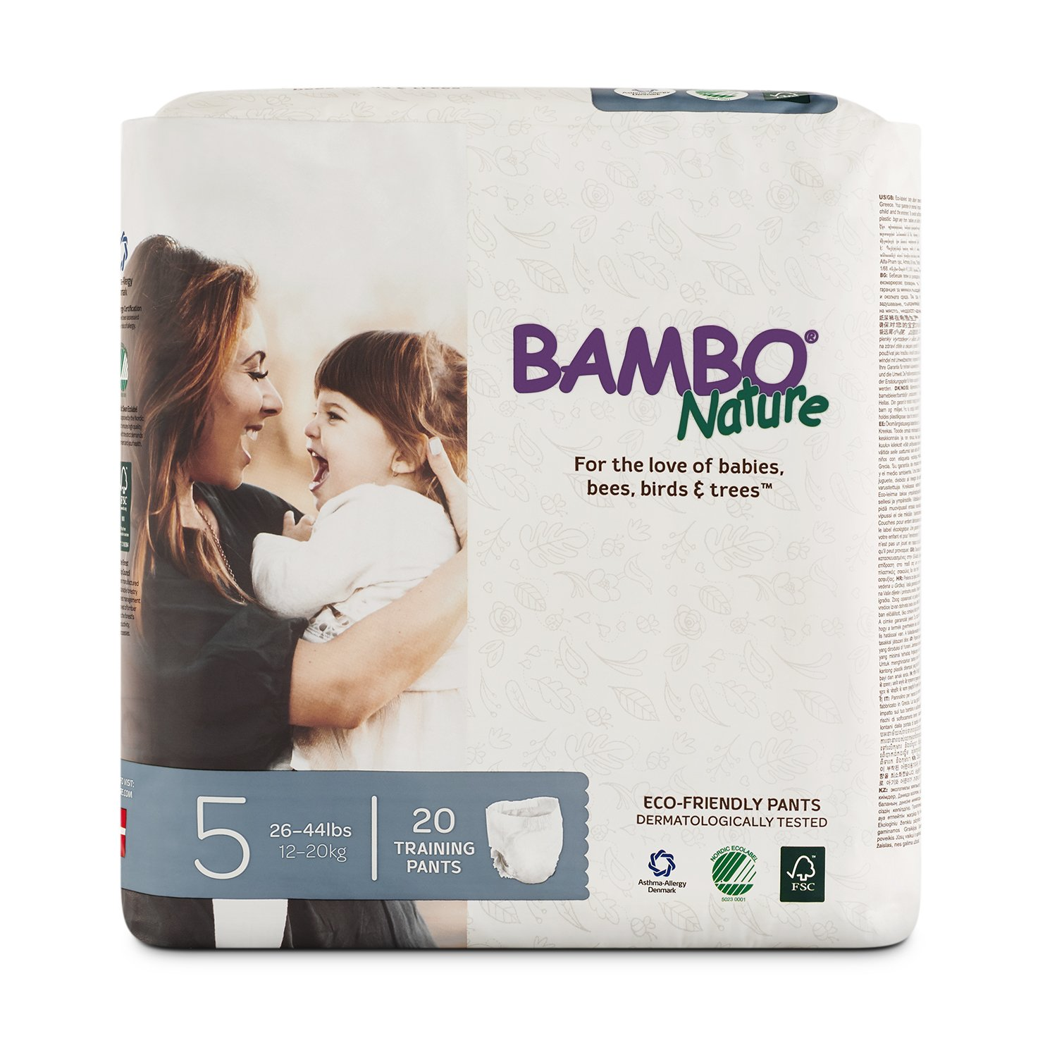 Bambo Nature Premium Training Pants (Choose Size and Count)