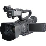 JVC GY-HM180U Ultra 4K HD 4KCAM Professional Camcorder + Top Handle Audio Unit