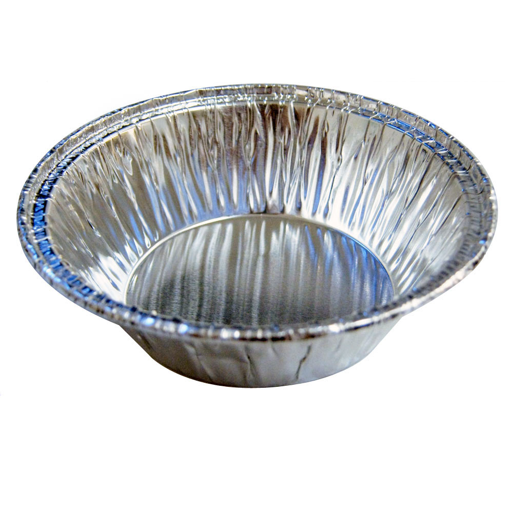 48 Pcs Disposable Aluminum Foil Cups Baking Bake Muffin Cupcake Tin Mold Round