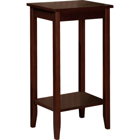 Dhp Rosewood Tall End Table Simple Design Multi Purpose Small E