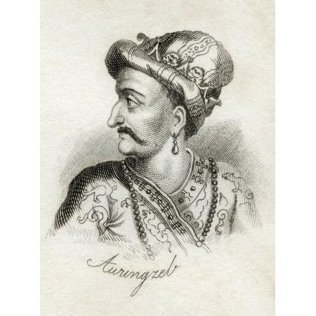 Al-Sultan Al-Azam Wal Khaqan Al-Mukarram Abdul Muzaffar Muhiuddin Muhammad Aurangzeb Bahadur Alamgir I Padshah Ghazi 1618 - 1707 Emperor Of The Mughal Empire From The Book Crabbs Historical Dictionary