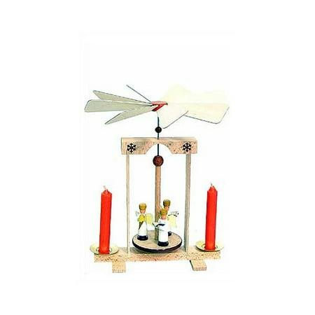 Dregeno 3 Standing Angels Pyramid Candle Holder