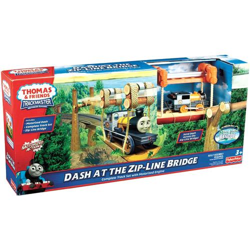 Fisher-Price Thomas & Friends Trackmaster Dash at the Zip-Line Bridge