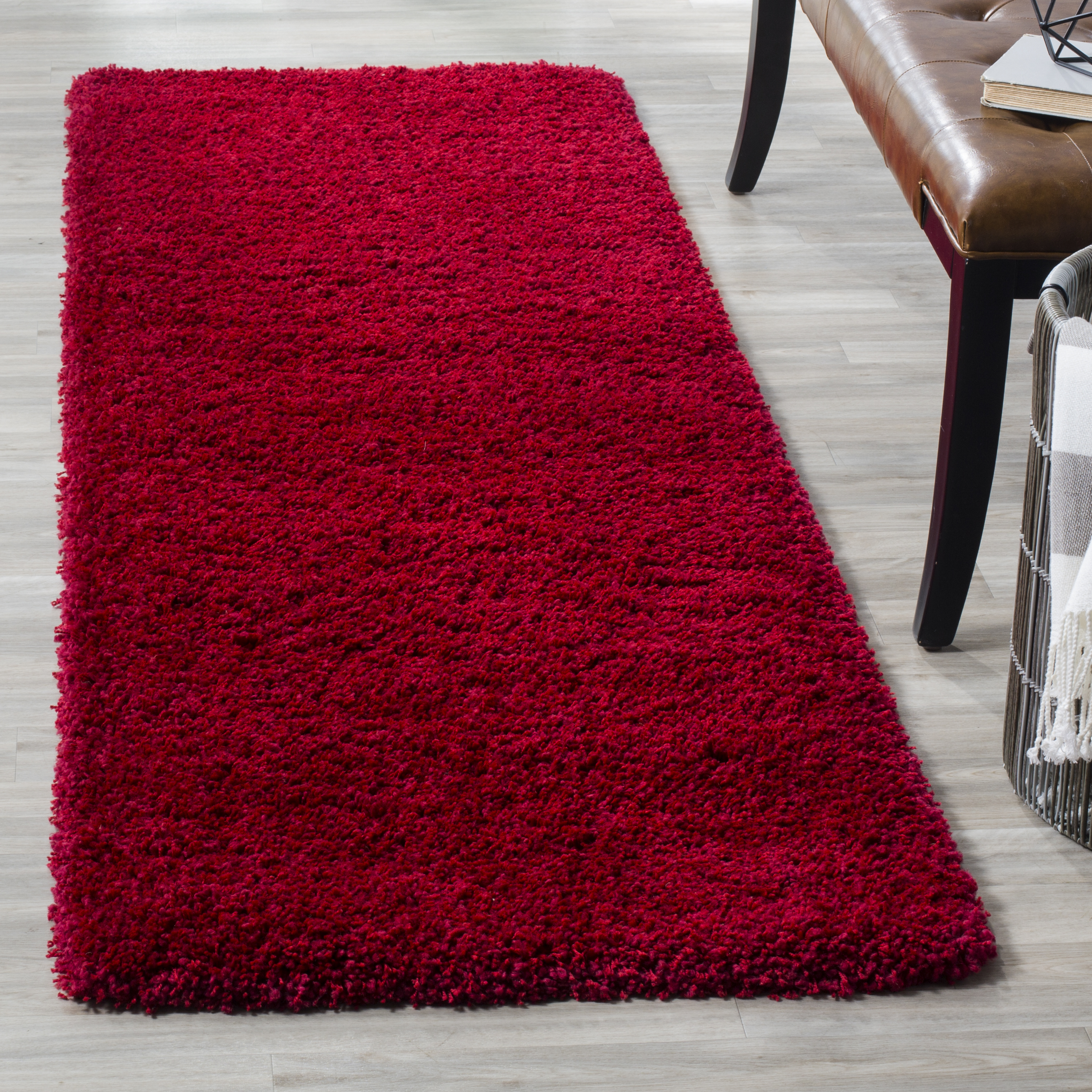 Red Striped Rugs