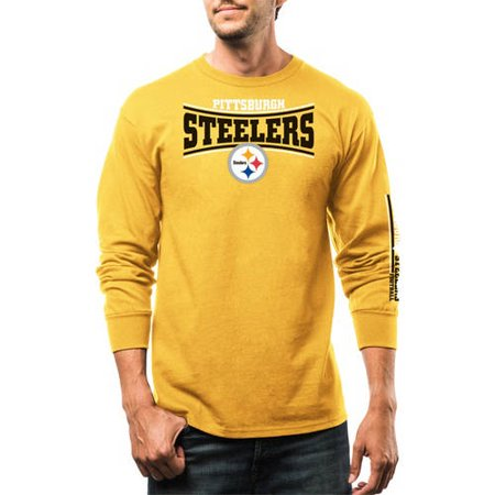 NFL Big Mens Pittsburgh Steelers Long Sleeve Tee by