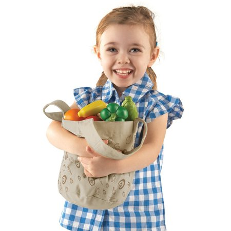 Best Learning Resources Fresh Picked Fruit And Veggie Tote, Ages 18 mos+ deal