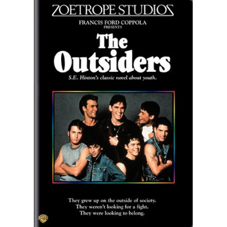The Outsiders (DVD) The Socs oppose the Greasers in 1960s Oklahoma. Directed by Francis Coppola. From the S.E. Hinton novel.