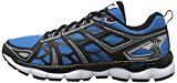 361 Men's Omni-Fit Running Shoe, Black/Blue/Silver
