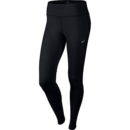558dbe8ccf5ef Nike - Nike Women s Dri-FIT  Epic Run Tight Black Black Reflective Silver  Pants MD X 28 - Walmart.com