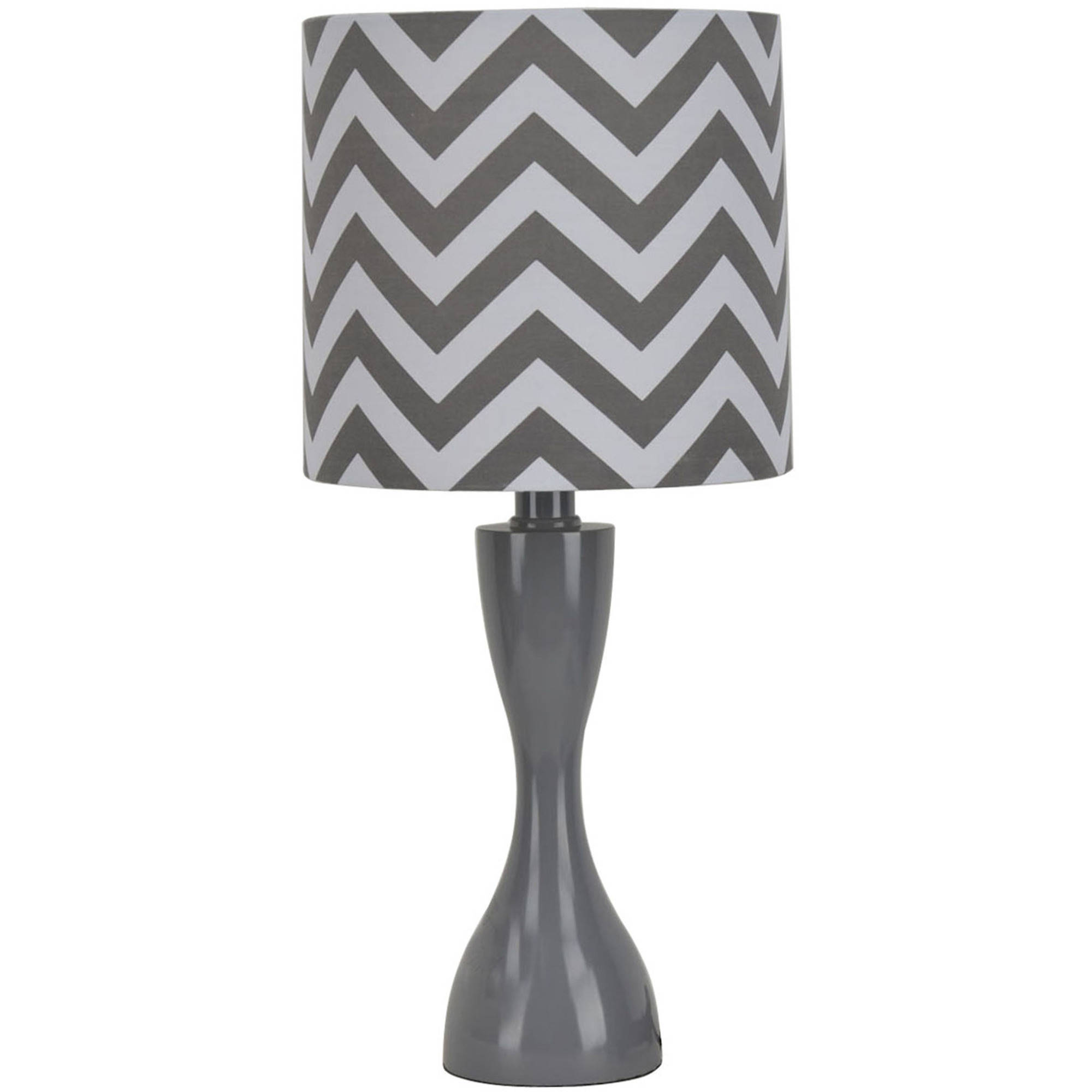 Mainstays Chevron Table Lamp