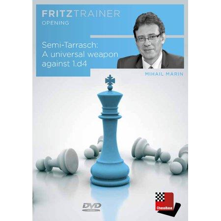 - Semi-Tarrasch - A Universal Weapon Against 1. d4 - Mihail Marin