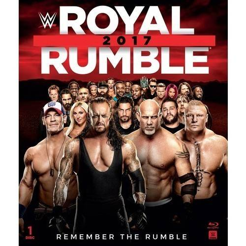 WWE: Royal Rumble 2017 (Blu-ray) by