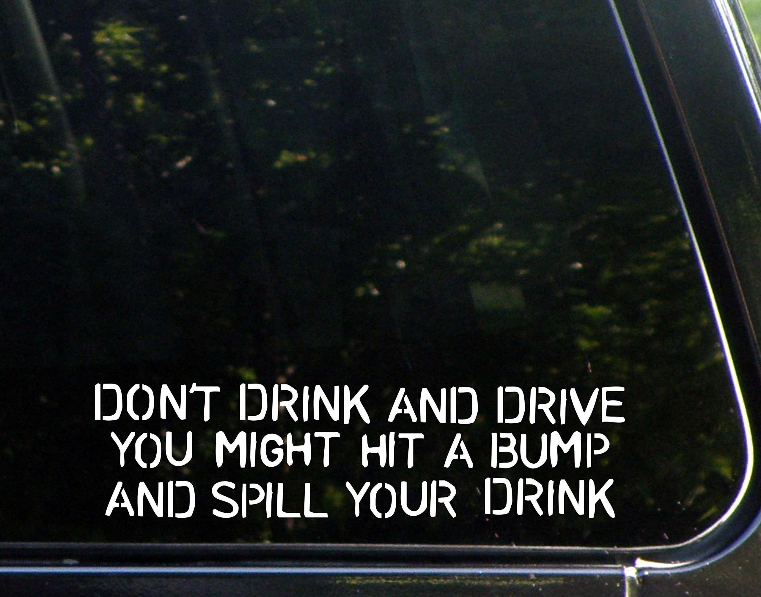 2X DON/'T TEXT /& DRIVE sticker vinyl decal