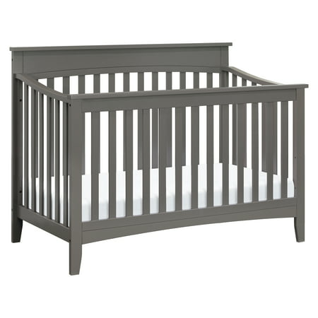 DaVinci Grove 4-in-1 Convertible Crib in Slate (Baby Crib Da Vinci Furniture)
