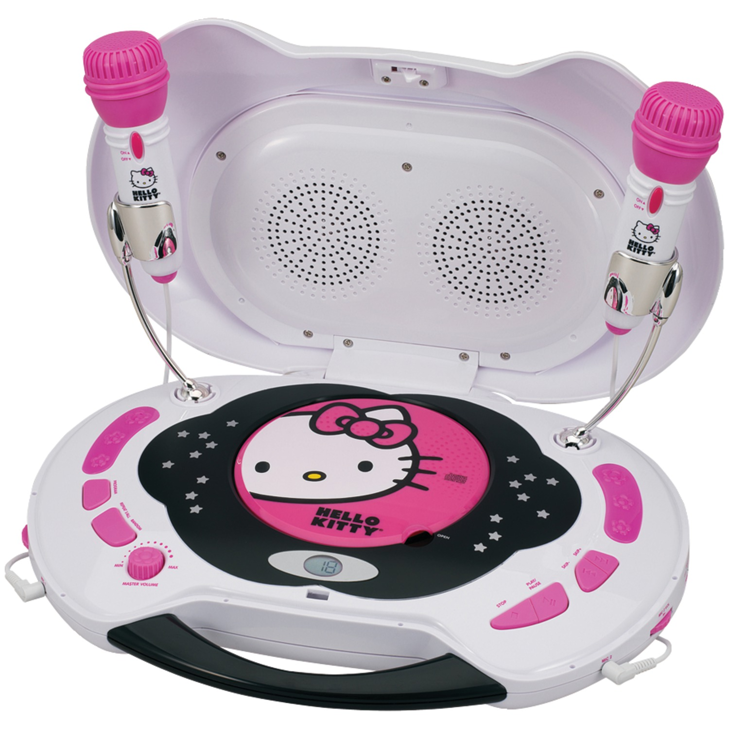 Hello Kitty KT2003MBY Karaoke System & CD Player by Hello Kitty