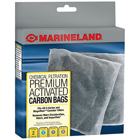 Marineland Premium Activated Carbon Bags, For Chemical Filtration