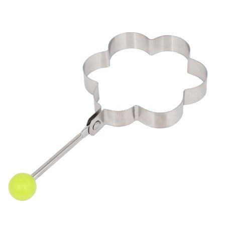 - Unique Bargains Stainless Steel Plum Blossom Shape Omelette Pancake Egg Ring Mold