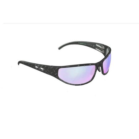 ICICLES Baggers Diamond HD Road Lens Mirror Sunglass with Matte Black (Country Road Glasses Frames)