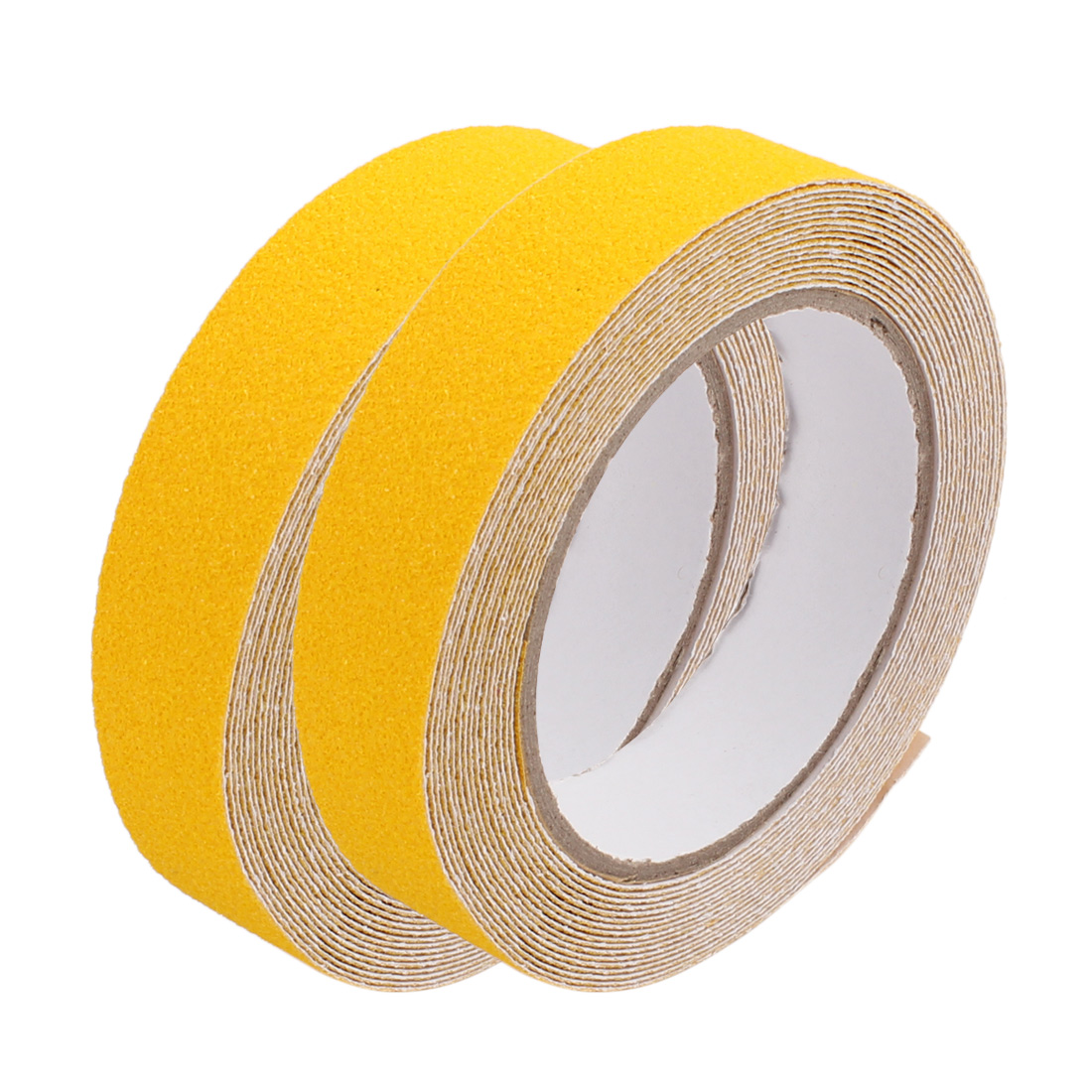 2Pcs Yellow Non-Slip Grip Tape Safety High Traction Indoor Outdoor 25mmx5m