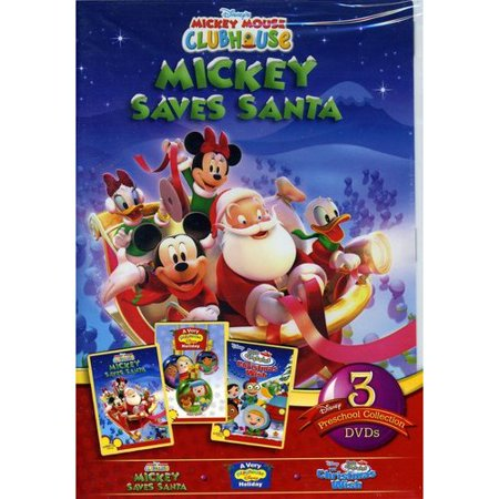 Playhouse Disney 2010 3-Pack: Mickey Saves Santa / A Very Playhouse Disney  Holiday / Little Einsteins: The Christmas Wish (Full Frame)