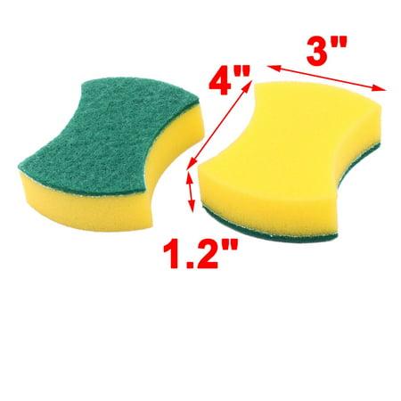 Home Sponge Bowl Plate Washing Tool Pot Pan Dishes Cleaning Pad Brush 4pcs - image 1 of 3