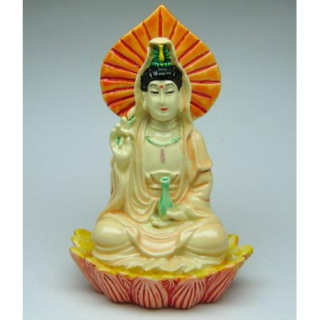 Small Guan Yin on Lotus Chinese Tea Tie Guan Yin