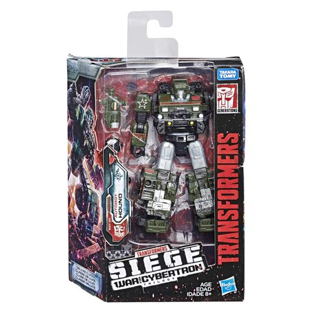 Transformers Deluxe Hound Action Figure -](Transformers Scene)