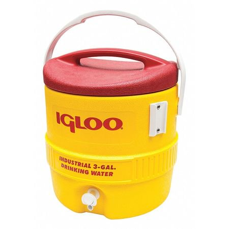 Igloo 431 3 gal. Beverage Cooler, Yellow (Coolers Color Picker)