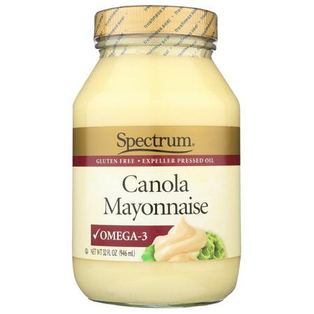 Spectrum Naturals Canola Mayonnaise, 32 Oz.